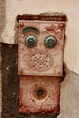 auch ein Gesicht eines Hauses