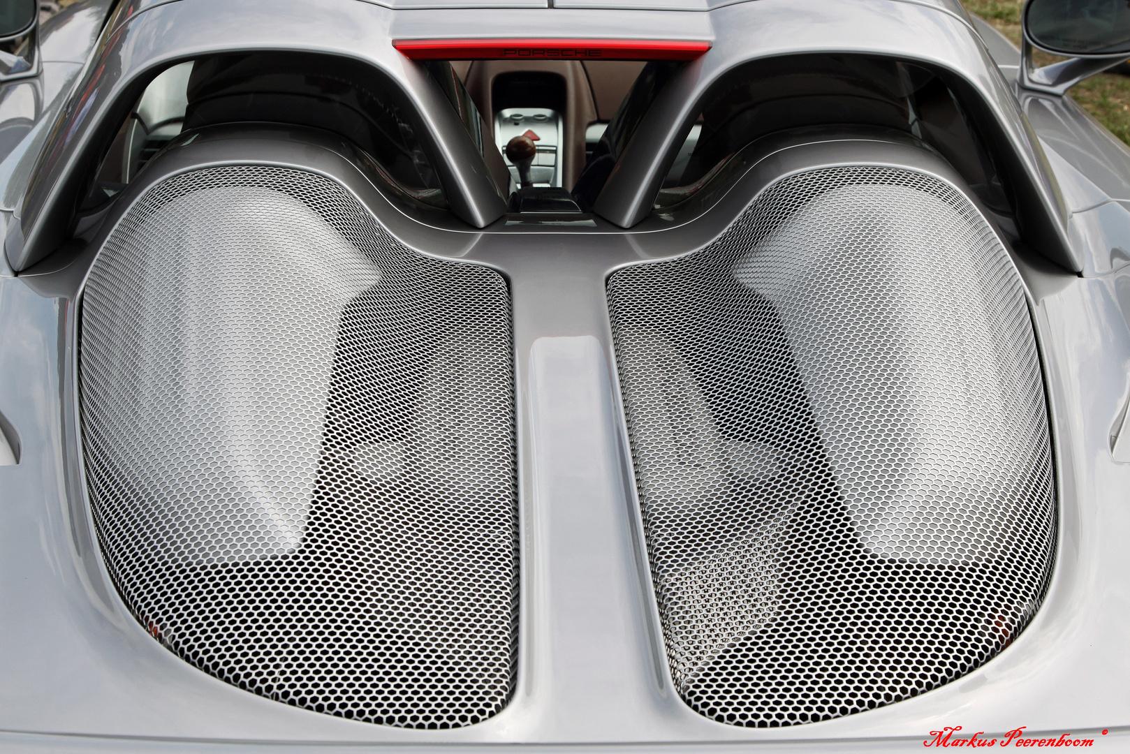 Auch ein Kofferset war mit dabei - Porsche Carrera 980 GT