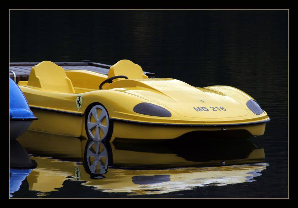 Auch ein Porsche ...