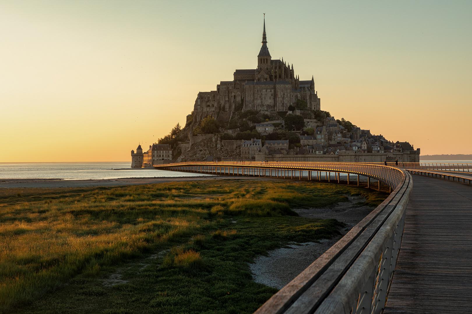 auch ein Weg .. _ le mont Saint Michel