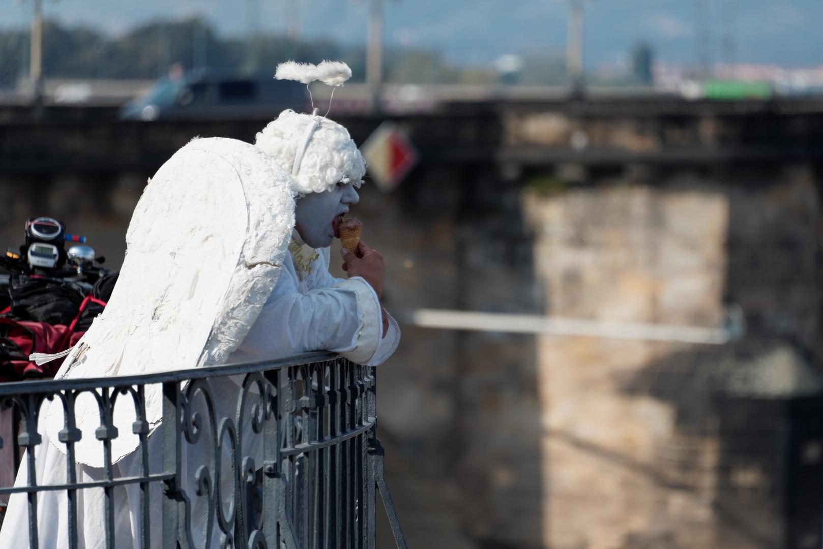 Auch Engel mögen Eis