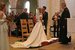 ...auch für den Pastor in der Mandelsloher Kirche Anlass zur Freude.