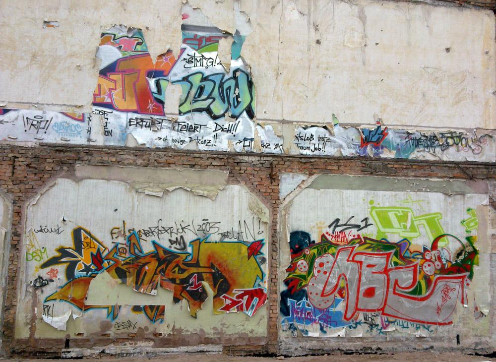 auch Graffities sterben mal ...