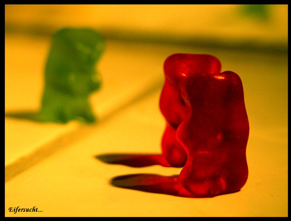 Auch Gummibärchen haben Gefühle