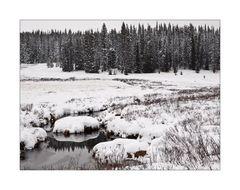 Auch in Colorado hat der Winter Einzug gehalten