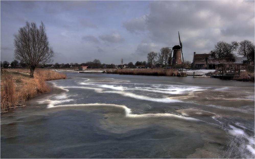 Auch in Holland gibt es manchmal ein bisschen Winter!