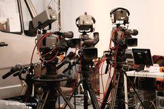 Auch Kameras machen Pause ...