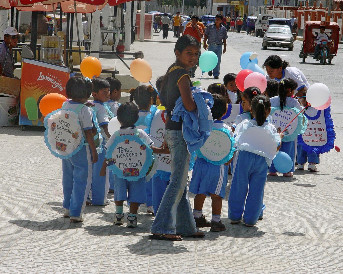 Auch Kinder haben Rechte