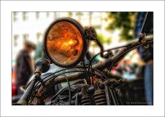 Auch Motorräder sind Oldtimer ... gesehen Oldtimerrally Viersen 2011