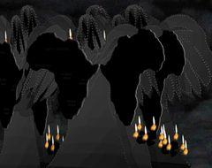 * auch schwarze Engel weinen *