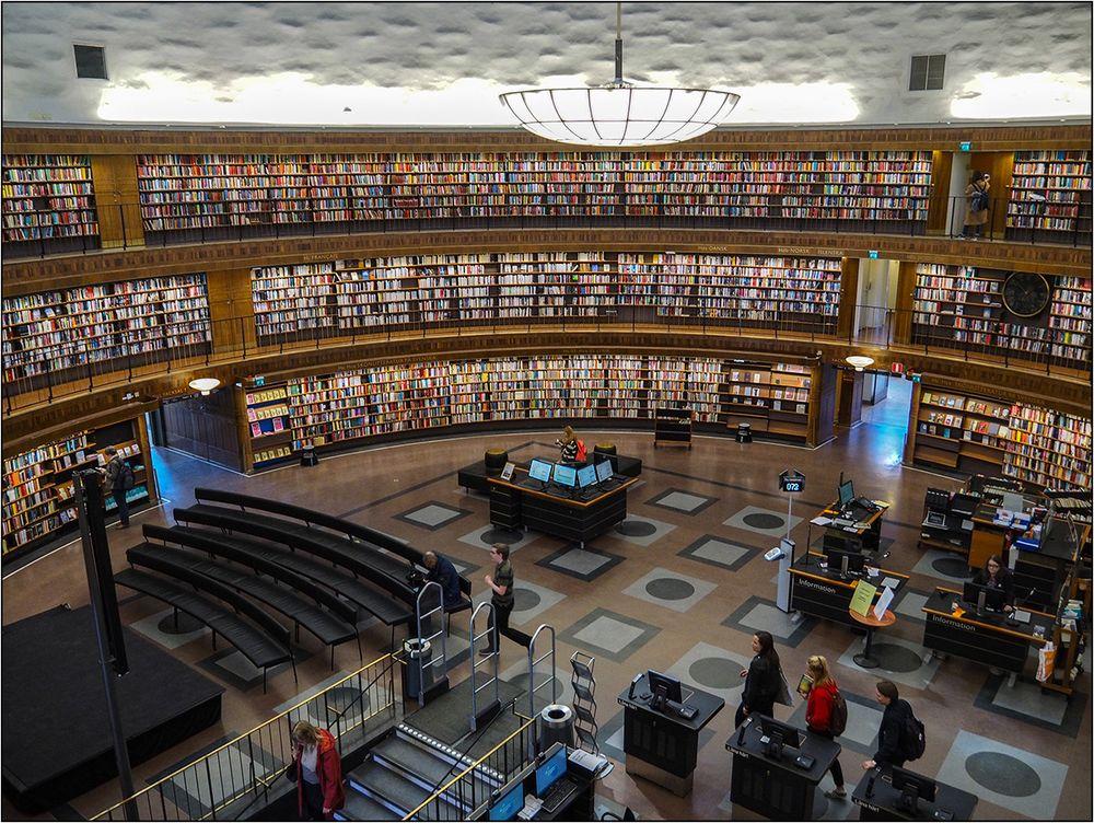 Auch Stadtbibliothek Stockholm