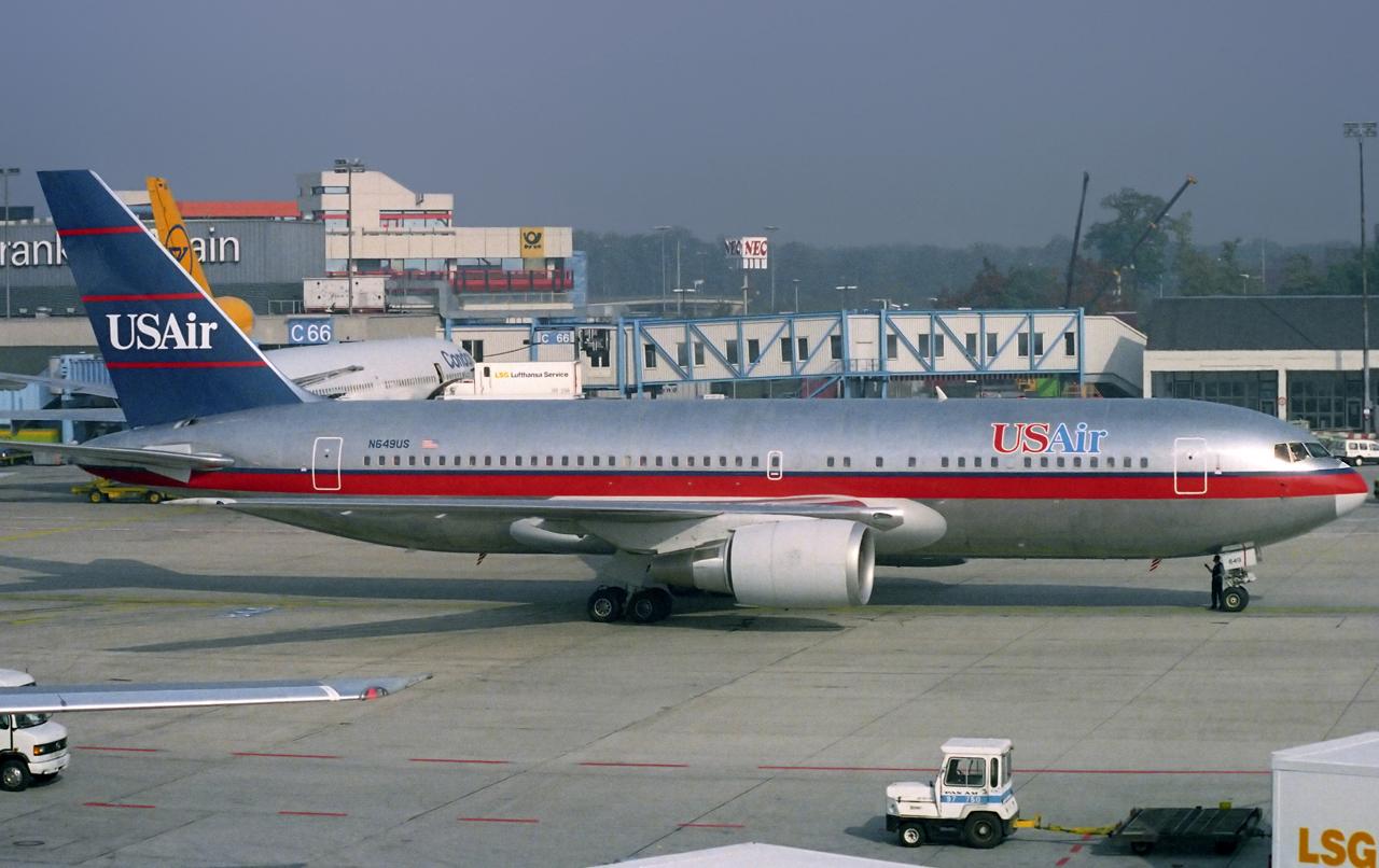 Auch US Airways gibt es nicht mehr