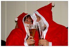 Auch Weihnachtsmänner/frauen .....