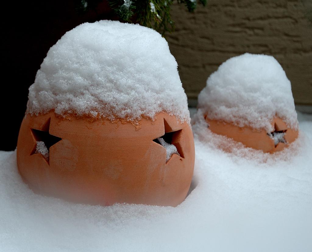 auch wir kommen aus dem Schnee heraus