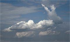 Auch Wolken wollen spielen