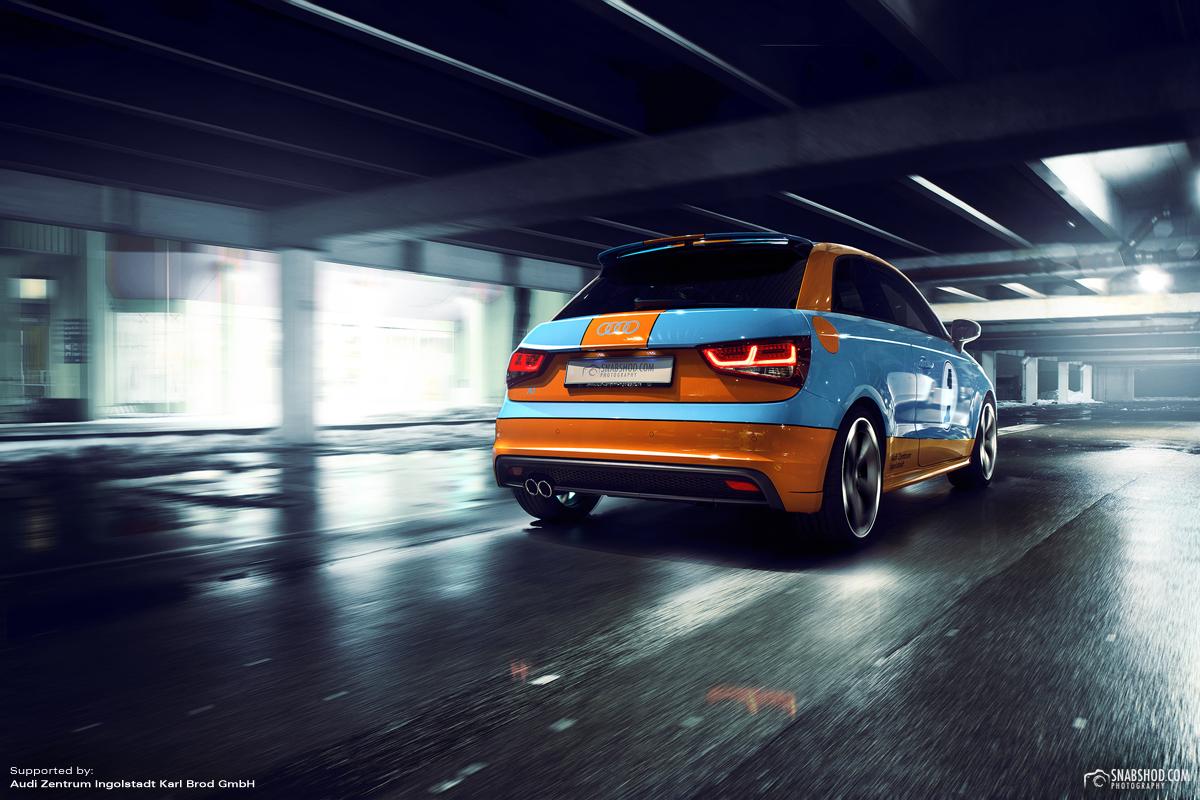 Audi A1 Gulf Design #2