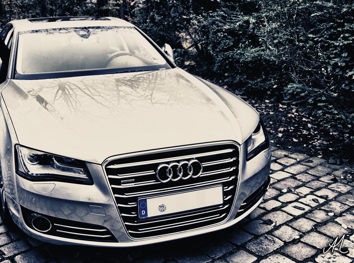 Audi A8 4,2 L V8 TDI 350 PS