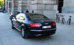 Audi A8L W12 Quattro Security