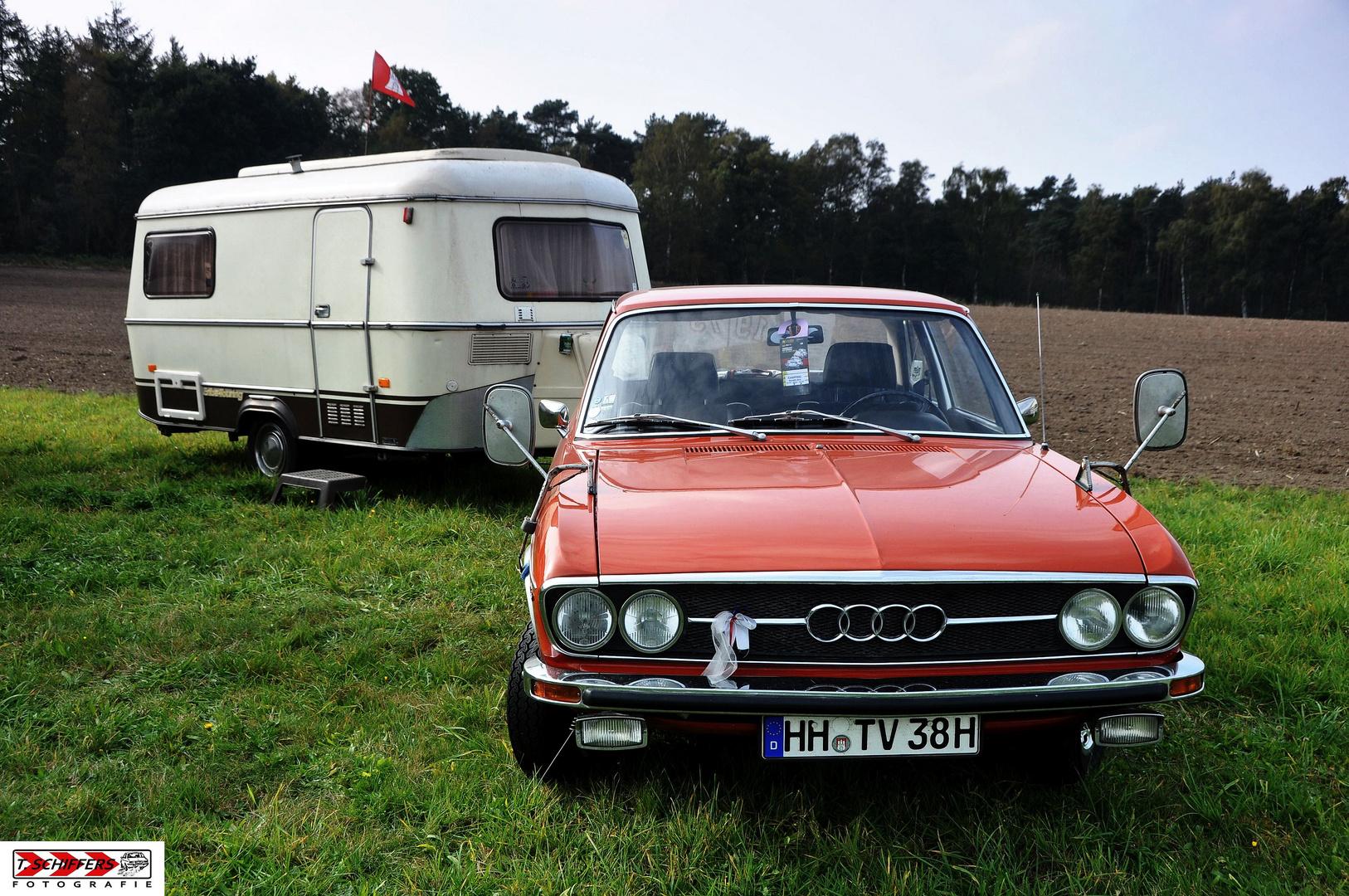 Audi-Camping-Gespann