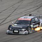 Audi on Fire