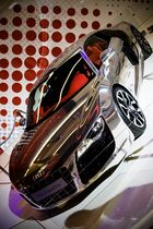 Audi R8 V10 in Chrom