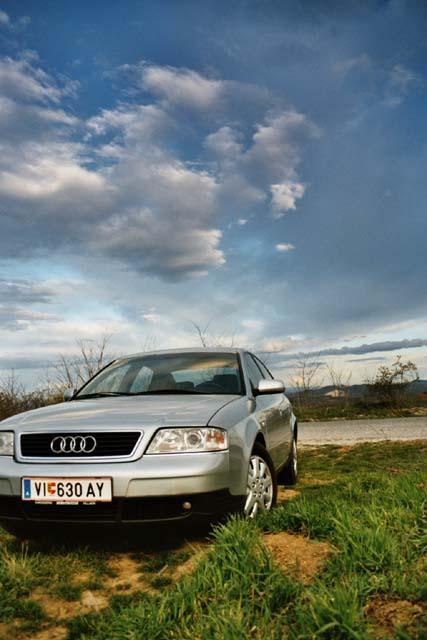 Audi Sonnenuntergang