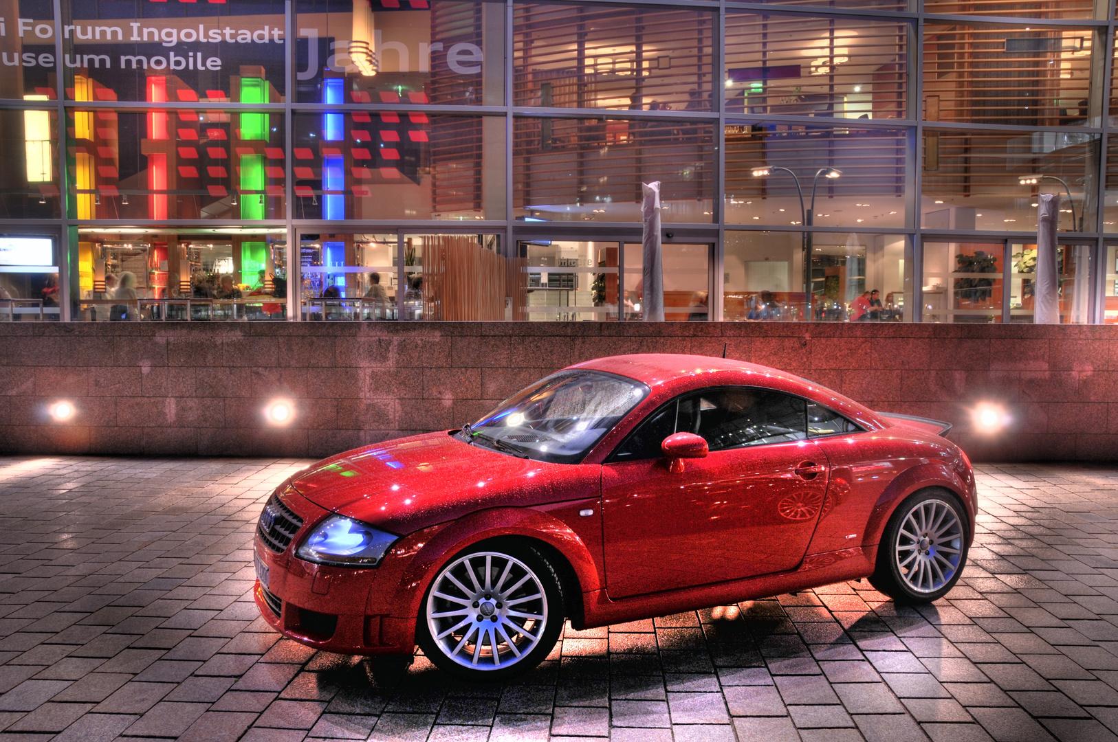 Audi TT 3,2l in HDR