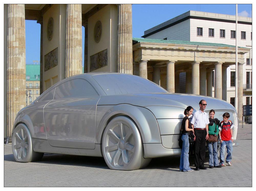 Audi - wahre Größe