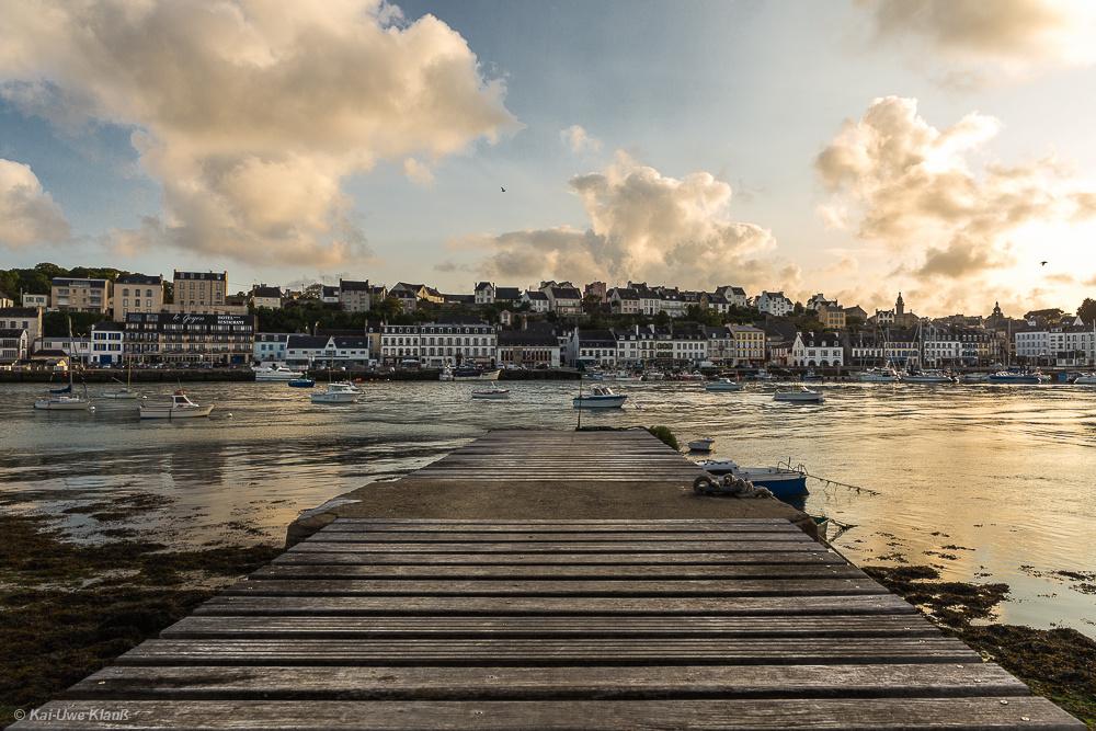 Audierne #3, Finistère, Bretagne, Abendstimmung