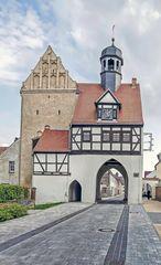 Aue-Tor, nördliches Stadttor in Bad Schmiedeberg