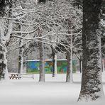 Auer Welsbach Park im Winter