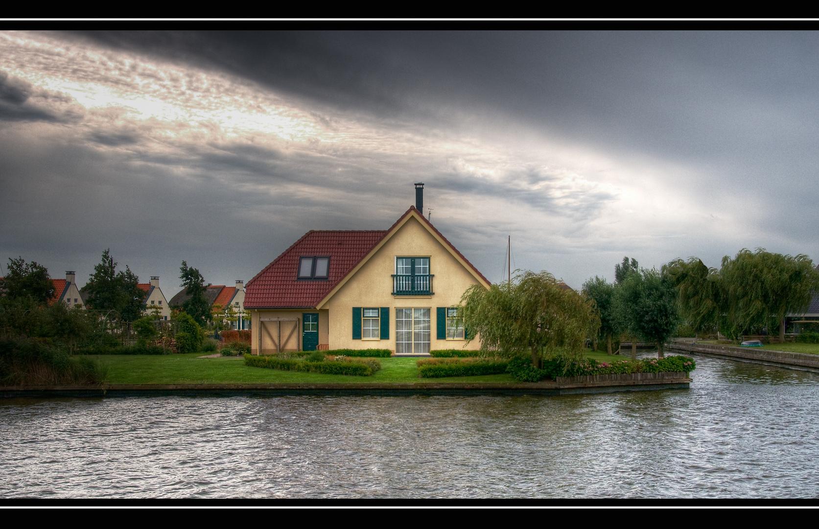 Auf Bootstour durch Holland