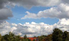 auf das sich die Wolken verziehen