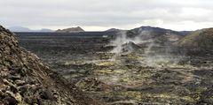 Auf dem aktiven Vulkan Leirhnjúkur