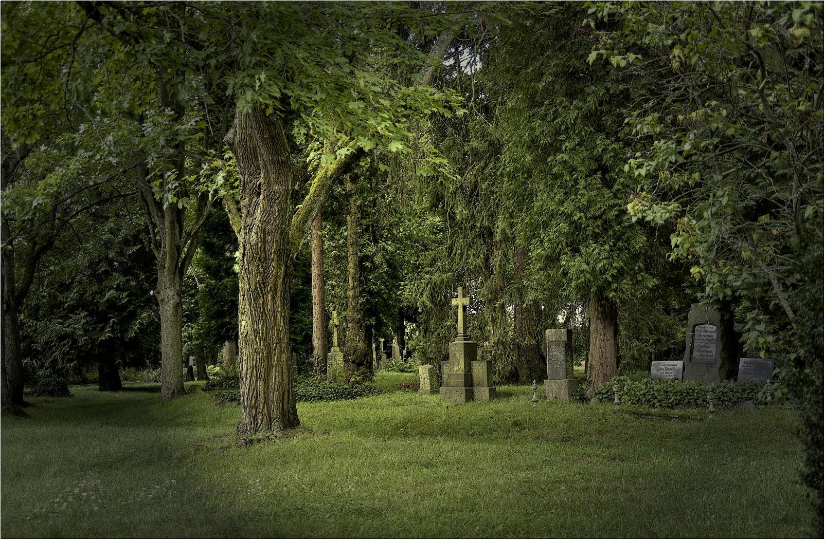 ~~Auf dem alten Friedhof Gießen~~