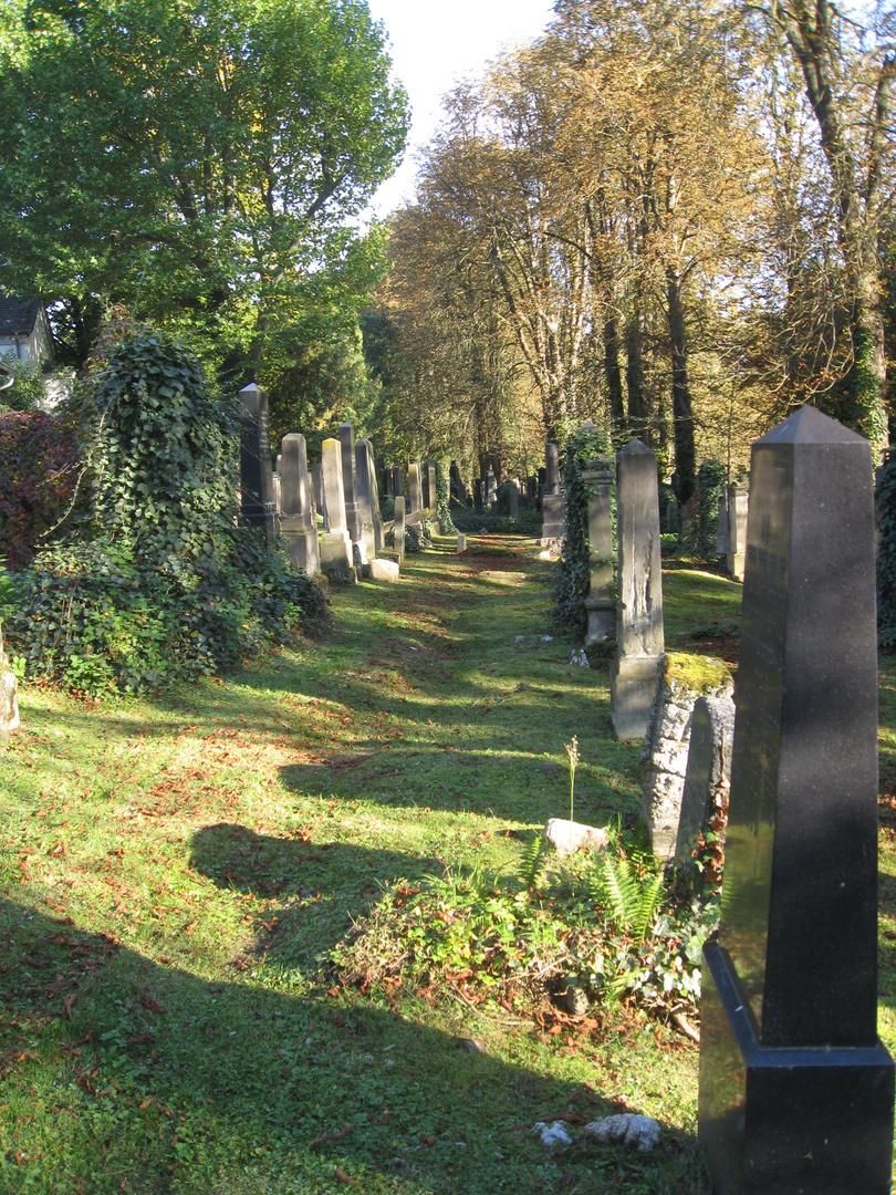 Auf dem Alten Jüdischen Friedhof Kassel 2 | Oktober 2015