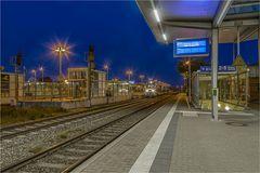 Auf dem Bahnhof Aschersleben fährt noch was