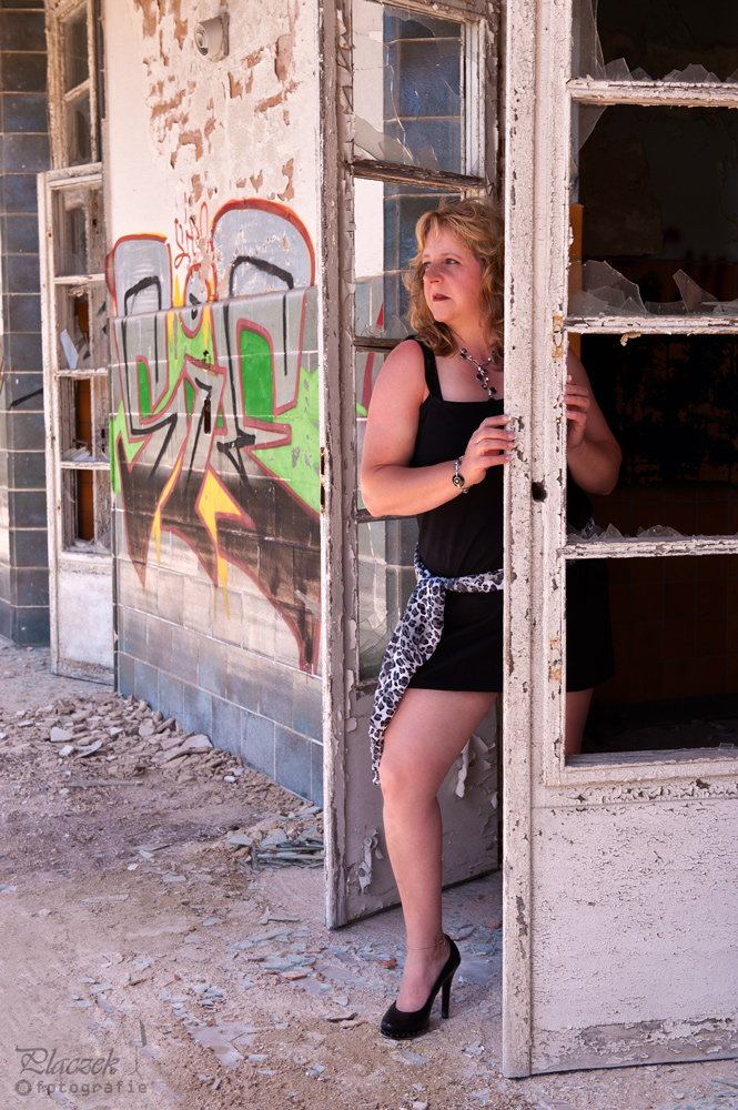 Auf dem Balkon (Beelitz 2010)