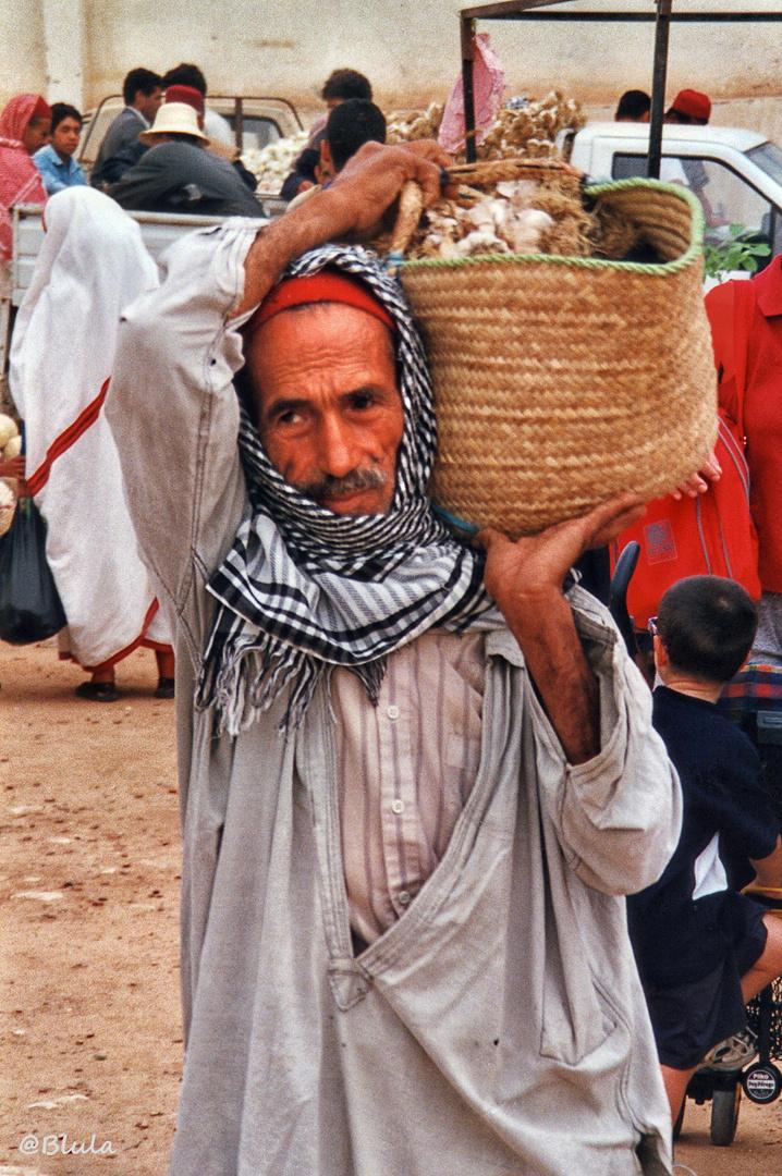 auf dem Berbermarkt