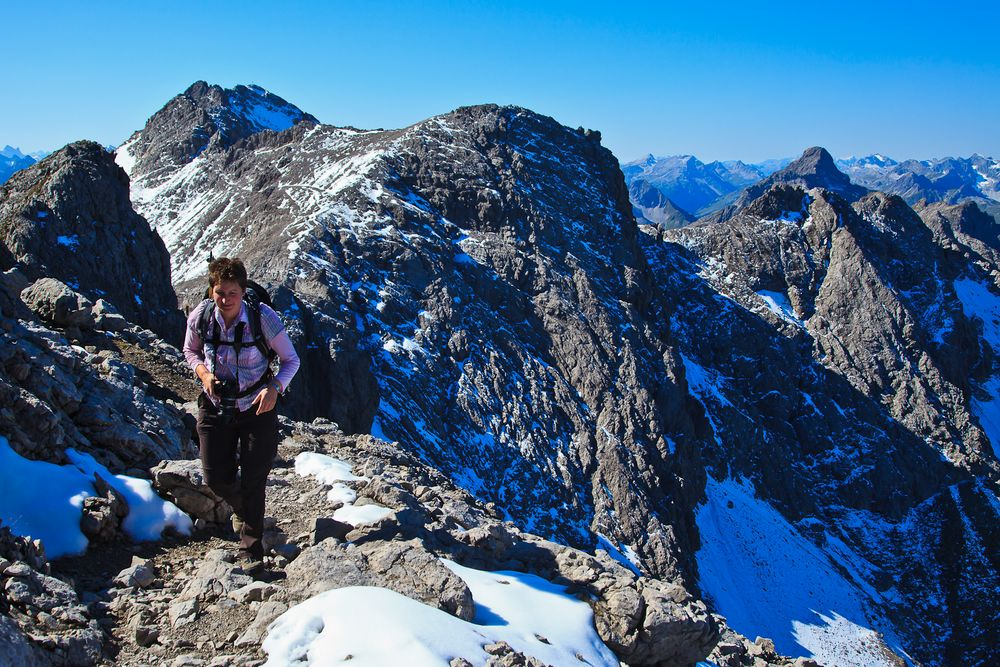 Auf dem Bockkarkopf (2608 m) ...