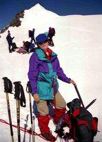 auf dem Breithornsattel in 4080 m 1998