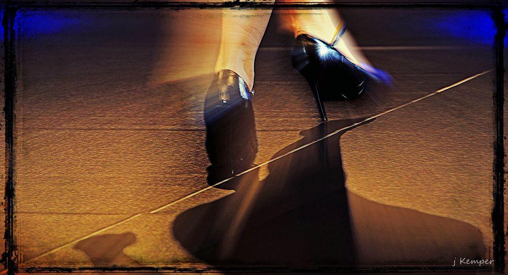 - auf dem Catwalk -