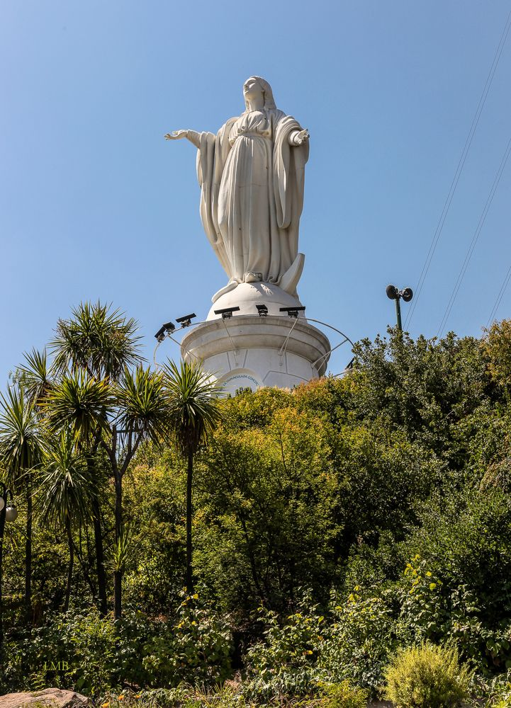 Auf dem Cerro San Cristóbal