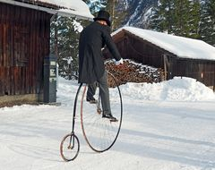 "Auf dem Fahrrad - à bicyclette - ""Belle Epoque"", Kandersteg!"