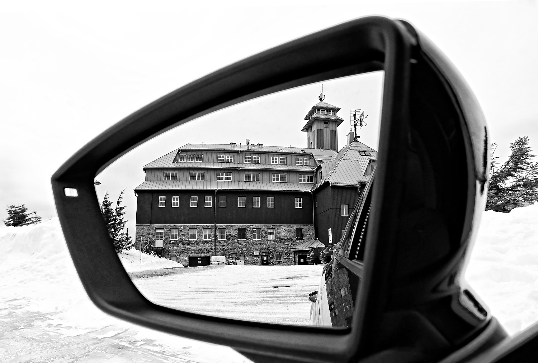 Auf dem Fichtelberg gespiegelt...