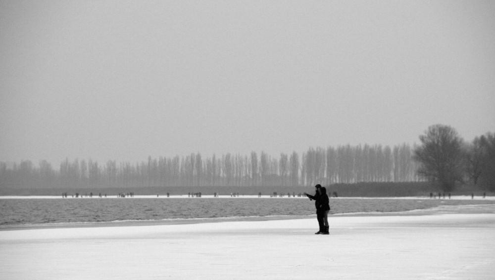 auf dem frost **