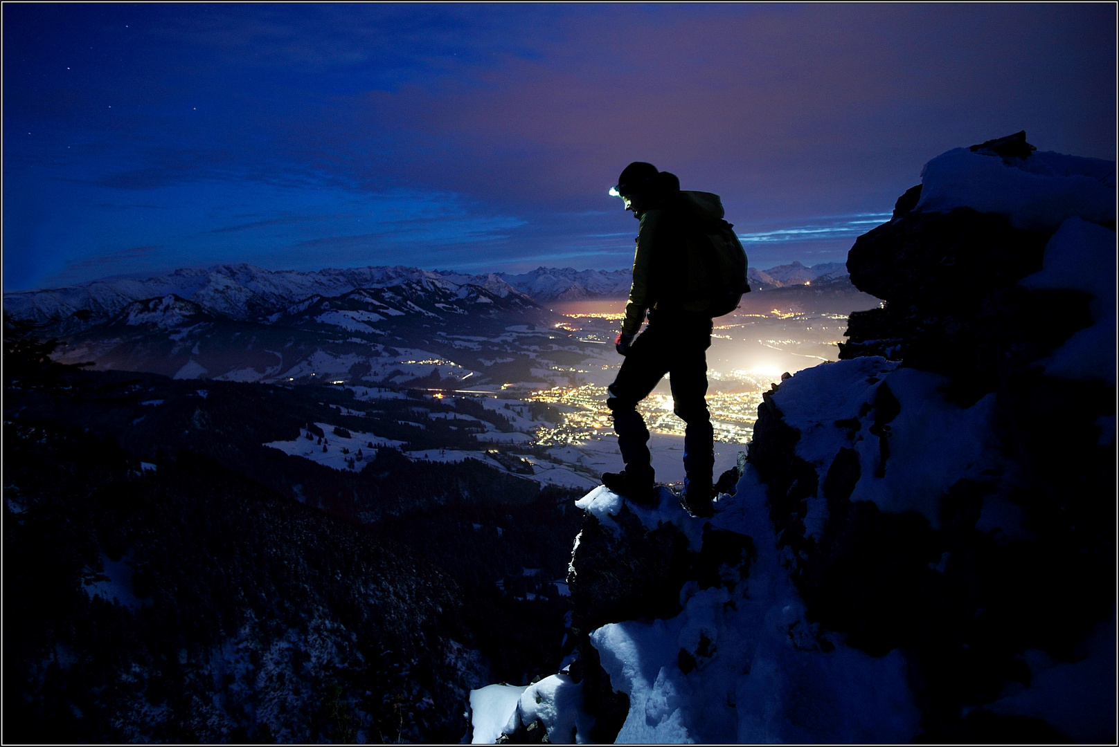 Auf dem Gipfel