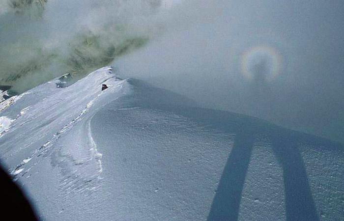 Auf dem Gipfelgrat des Antelao