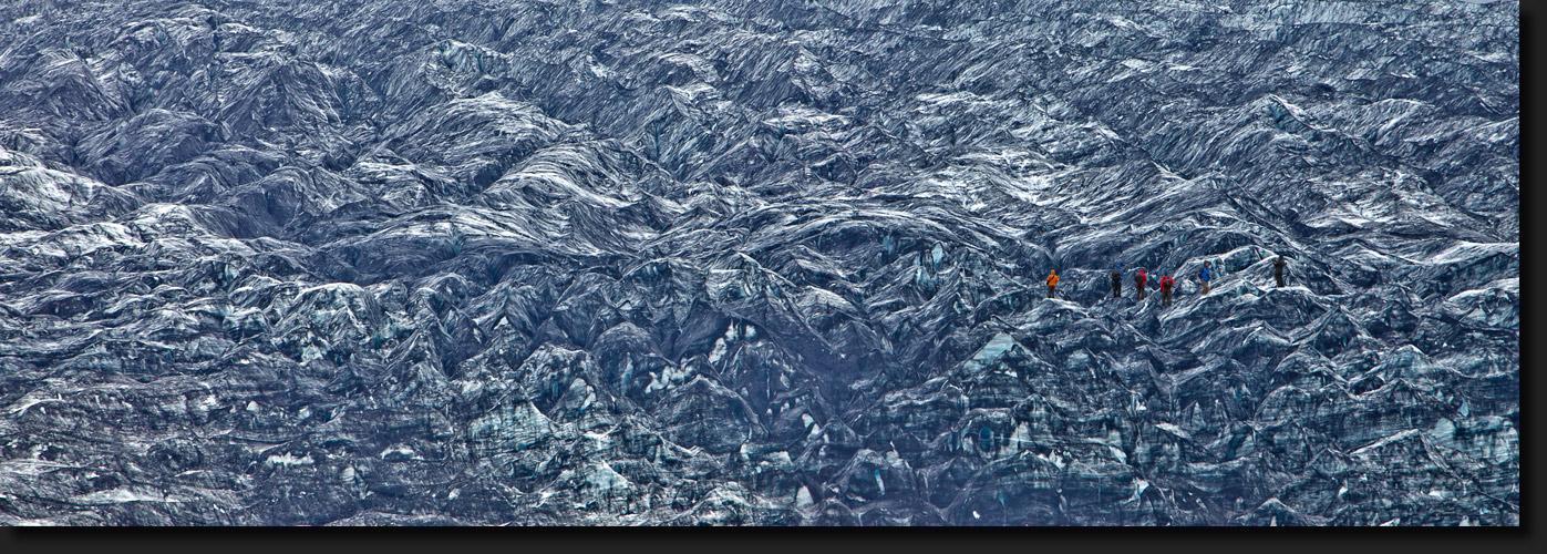 auf dem Gletscher - Island