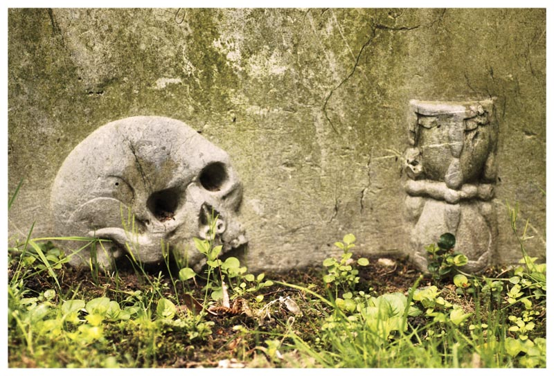 Auf dem Golzheimer Friedhof